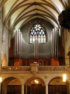 Orgel Kirche Fraumünster von Orgelbau Genf AG