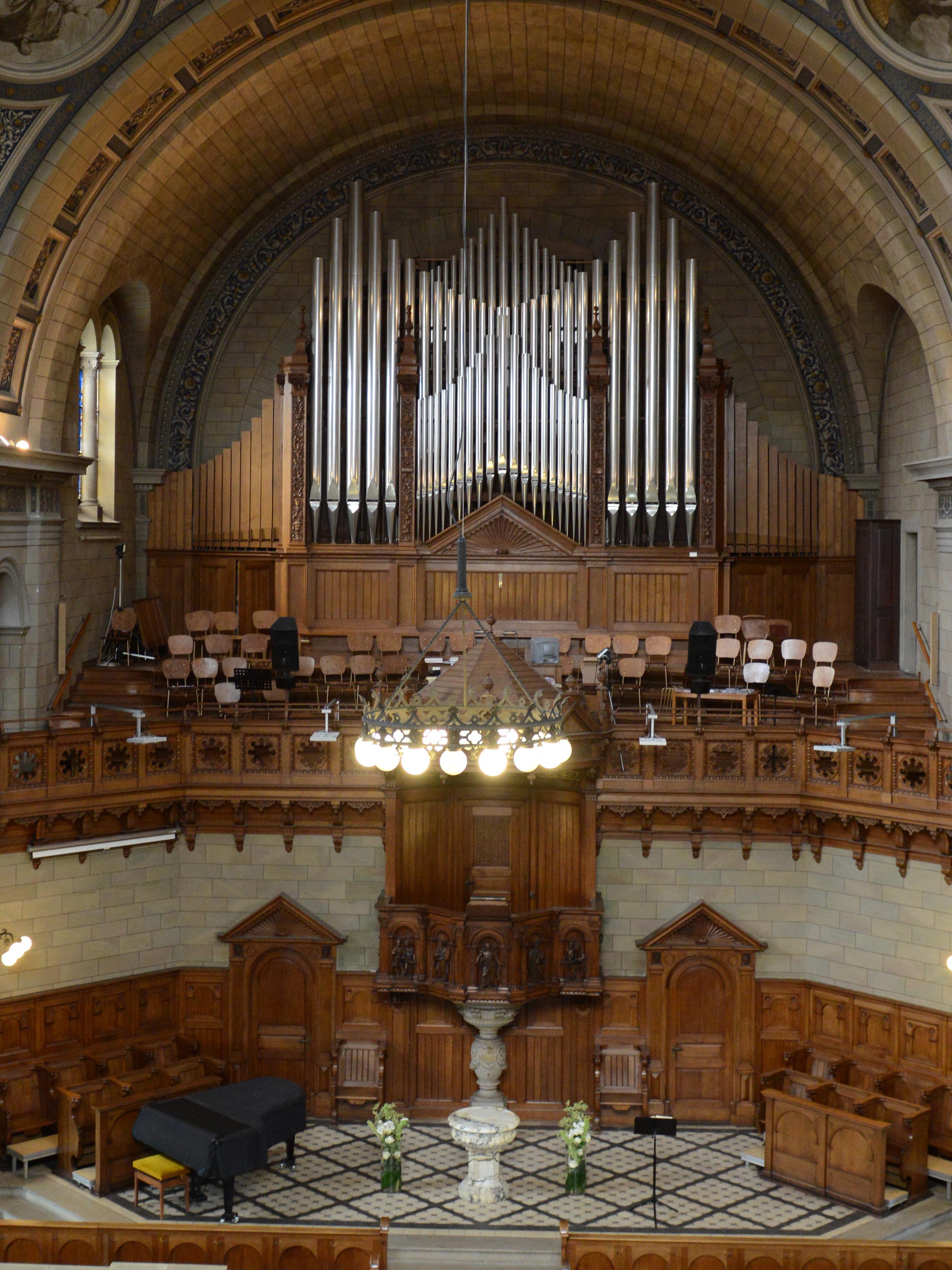 Orgelprospekt Zürich-Enge