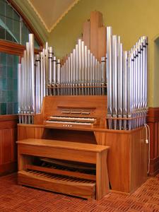 Maag Orgel St. Jakob im Seitenschiff