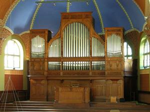 Orgelprospekt St. Jakob Kuhn-Orgel