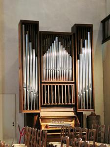Orgelansicht Chororgel