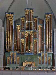 Orgelprospekt Grossmünster