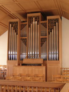 Orgel Kirche Höngg