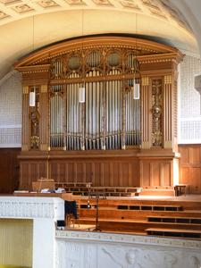 Orgelprospekt Goll-Orgel Kreuzkirche ZH