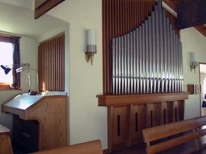 Metzler Orgel Matthaeuskirche Zürich