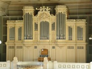 Kuhn (Tonhalle-) Orgel Kirche Neumünster