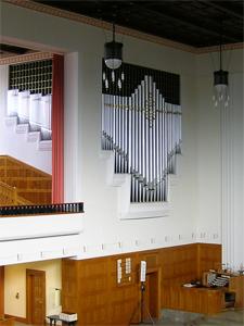 Orgel Kirche Oberstrass