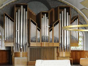 Orgel Kirche Oerlikon