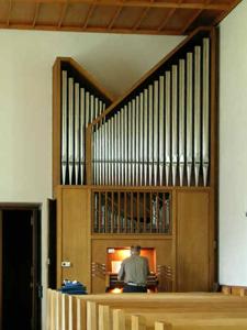 Orgel Seebach Alte Kirche