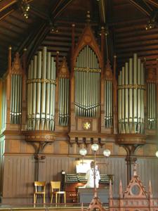 Goll Orgel Bühlkirche Wiedikon