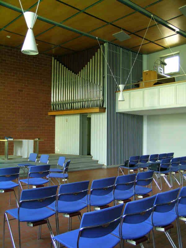 Maag-Orgel Kirchgemeindehaus Letten