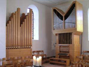 Orgel Alte Kirche Witikon