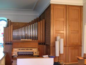 Orgel Alte Kirche Wollishofen