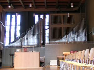 Kuhn Orgel Wollishofen Auf der Egg