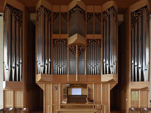 Neuzeitlicher Neo-Barock-Orgelentwurf